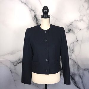 🦋EVAN PICONE🦋 vintage collarless boxy jacket